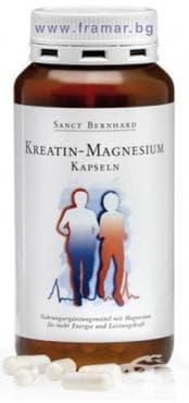 Изображение към продукта КРЕАТИН + МАГНЕЗИЙ капс. * 200 SANCT BERNHARD