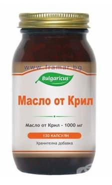 БУЛГАРИКУС МАСЛО ОТ КРИЛ капсули 1000 мг. * 120 - изображение