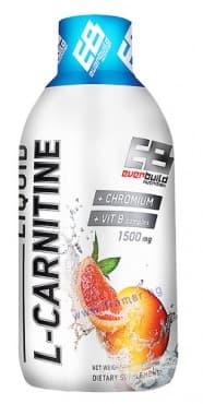 L-КАРНИТИН ТЕЧЕН 1500 мг + ХРОМ + ВИТАМИН Б КОМПЛЕКС с вкус на грейпфрут 450 мл. - изображение