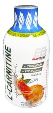 L-КАРНИТИН ТЕЧЕН 3000 мг + ХРОМ + ВИТАМИН Б КОМПЛЕКС + ЗЕЛЕН ЧАЙ с вкус на грейпфрут 500 мл. - изображение