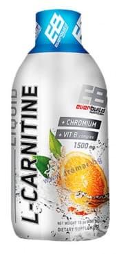 L-КАРНИТИН ТЕЧЕН 1500 мг + ХРОМ + ВИТАМИН Б КОМПЛЕКС с вкус на портокал 450 мл. - изображение