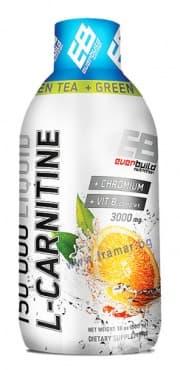 L-КАРНИТИН ТЕЧЕН 3000 мг + ХРОМ + ВИТАМИН Б КОМПЛЕКС + ЗЕЛЕН ЧАЙ с вкус на портокал 500 мл. - изображение
