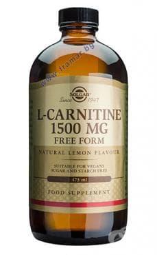 L - КАРНИТИН ТЕЧЕН 1500 mg. * 473 мл. СОЛГАР - изображение