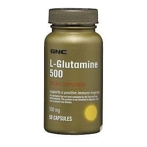 Изображение към продукта L - ГЛУТАМИН капсули 500 мг * 50 GNC