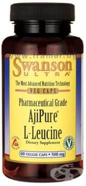 Изображение към продукта СУОНСЪН ЧИСТ L - ЛЕВЦИН  капсули 500 мг * 60