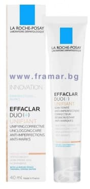 ЛА РОШ - EFFACLAR UNIFIANT DUO+ КОРЕКТОР нюанс MEDIUM 40 мл. - изображение