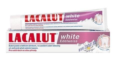 ПАСТА ЗА ЗЪБИ ЛАКАЛУТ WHITE EDELWEISS 75 мл. - изображение