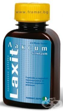 Изображение към продукта ЛАКСИТ таблетки * 120 ТОШКОВ