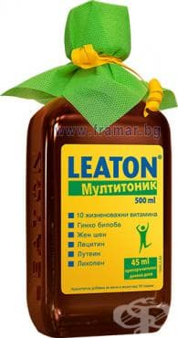 ЛЕАТОН МУЛТИТОНИК 500 мл. - изображение