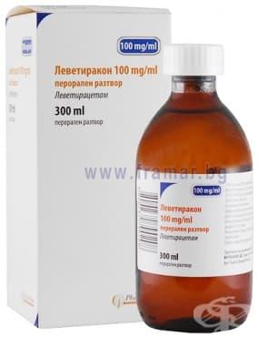 Изображение към продукта ЛЕВЕТИРАКОН сироп 100 мг/мл 300 мл ФАРМАКОНС