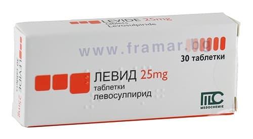 Изображение към продукта ЛЕВИД таблетки 25 мг * 30