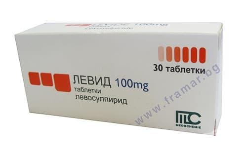 ЛЕВИД таблетки 100 мг. * 30 - изображение