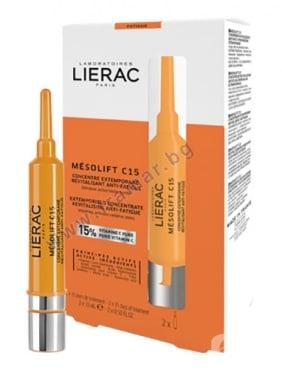 Изображение към продукта ЛИЕРАК МЕЗОЛИФТ C15 КОНЦЕНТРАТ 2 * 15 мл
