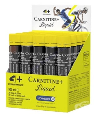 Изображение към продукта 4+ НУТРИШЪН КАРНИТИН + ЛИКИУД  3000 mg * 20