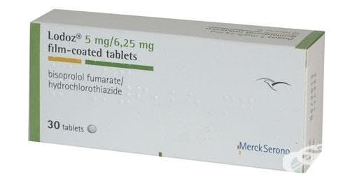Изображение към продукта ЛОДОЗ табл. 5 мг. / 6.25 мг. * 30