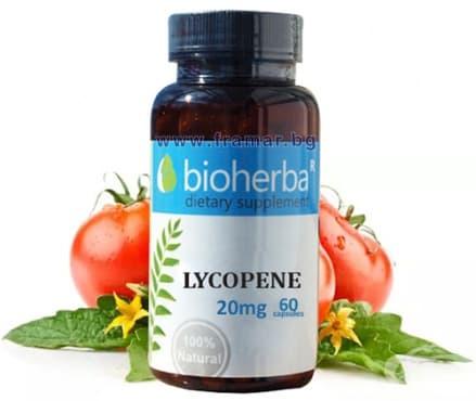 БИОХЕРБА ЛИКОПЕН капсули 20 мг. * 60 - изображение