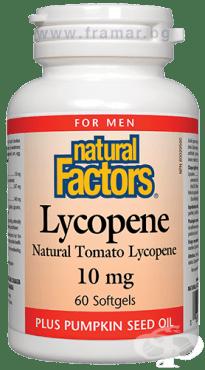 Изображение към продукта ЛИКОПЕН капсули 10 мг * 60 НАТУРАЛ ФАКТОРС