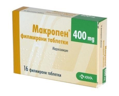 МАКРОПЕН филмирани табл. 400 мг. * 16 - изображение