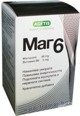 Изображение към продукта МАГ 6 таблетки * 56 МЕДОХЕМИ