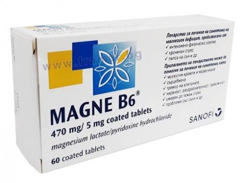 Изображение към продукта МАГНЕ B6 таблетки * 60
