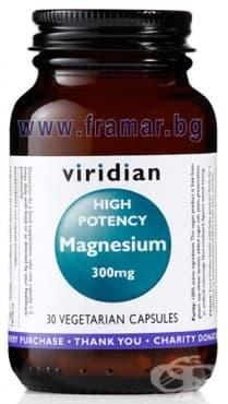 МАГНЕЗИЙ капсули 300 мг. * 30 VIRIDIAN - изображение