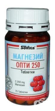 МАГНЕЗИЙ ОПТИ табл. 250 мг. * 75 - изображение