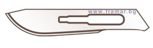 Изображение към продукта ОСТРИЕ ЗА СКАЛПЕЛ 21 лезвие ЕКОМЕТ - 90