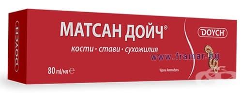МАТСАН ДОЙЧ крем 80 мл. ЧЕРВЕН - изображение