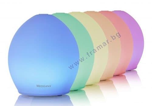 Изображение към продукта МЕДИСАНА АРОМАТИЗАТОР С LED СВЕТЛИНА AD 635 60085