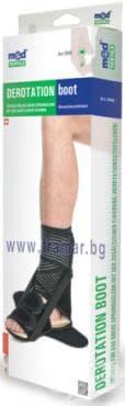 МЕДТЕКСТИЛ ДЕРОТАЦИОННА ОРТЕЗА ЗА ГЛЕЗЕН 7040/10 УНИВЕРСАЛЕН РАЗМЕР (S - XL) - изображение