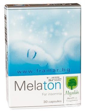 Изображение към продукта МАГНАЛАБС МЕЛАТОН капсули * 30