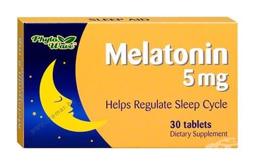 МЕЛАТОНИН таблетки 5 мг. * 30 PHYTO WAVE