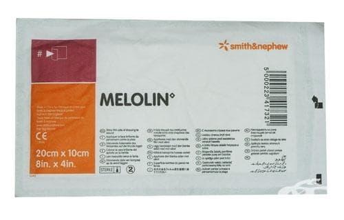 Изображение към продукта МЕЛОЛИН превръзка за рана 20 см. / 10 см. * 1