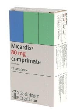 МИКАРДИС табл. 80 мг. * 28 - изображение