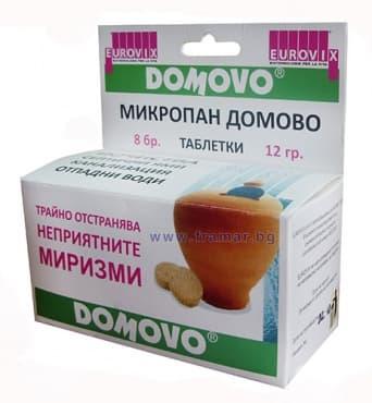 Изображение към продукта МИКРОПАН ДОМОВО таблетки * 8