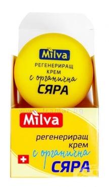 Изображение към продукта МИЛВА РЕГЕНЕРИРАЩ КРЕМ С ОРГАНИЧНА СЯРА 35 мл