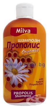 Изображение към продукта МИЛВА ШАМПОАН ЗА КОСА С ПРОПОЛИС 200 мл.