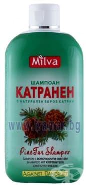 Изображение към продукта МИЛВА КАТРАНЕН ШАМПОАН 200 мл.