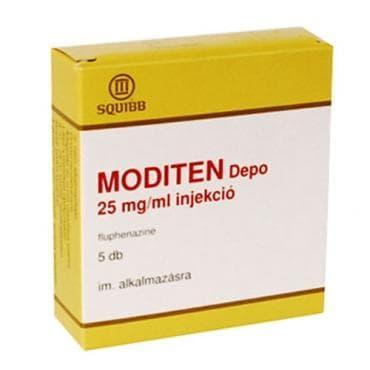МОДИТЕН ДЕПО амп. 25 мг. / мл.  * 1 - изображение