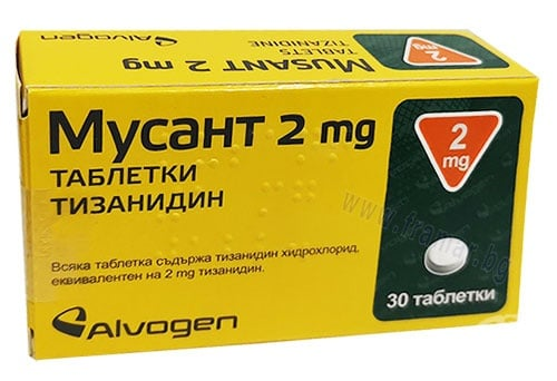 Изображение към продукта МУСАНТ таблетки 2 мг * 30 АКТАВИС
