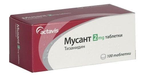 Изображение към продукта МУСАНТ табл. 2 мг. * 100