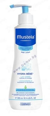 МУСТЕЛА - Hydra Baby Lotion - хидратиращ лосион 300 мл. - изображение