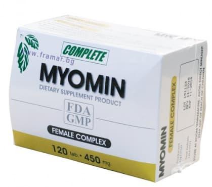 МИОМИН таблетки 450 мг. * 120 - изображение