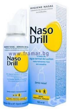 Изображение към продукта НАЗО ДРИЛ спрей за нос 100 мл.