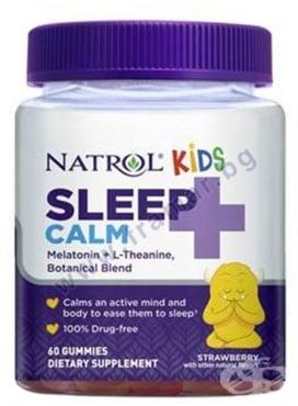 Изображение към продукта НАТРОЛ КИДС СЛИЙП КАЛМ желирани таблетки * 60