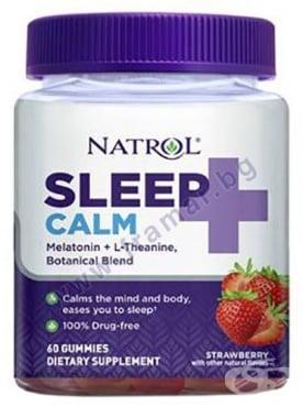 Изображение към продукта НАТРОЛ СЛИЙП КАЛМ желирани таблетки * 60