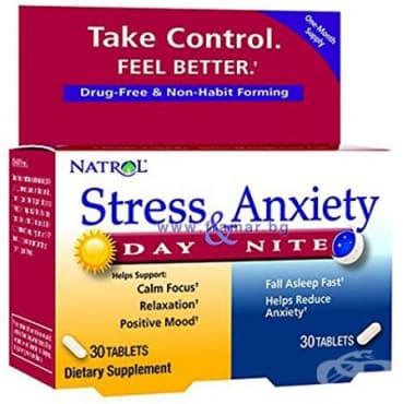 Изображение към продукта НАТРОЛ СТРЕС И БЕЗПОКОЙСТВО таблетки * 60