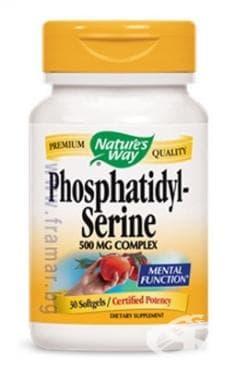 Изображение към продукта ФОСФАТИДИЛ - СЕРИН капсули * 30 NATURE'S WAY