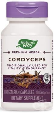 Изображение към продукта КОРДИЦЕПС капсули 500 мг * 60 NATURE'S WAY