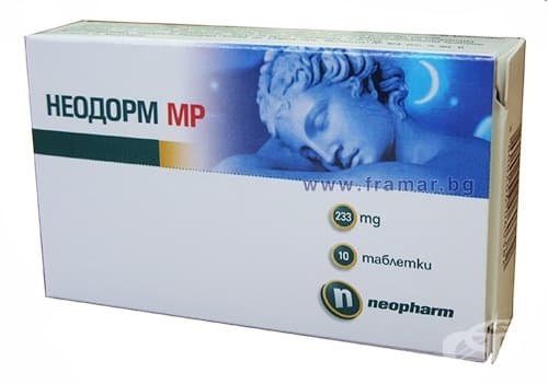 Изображение към продукта НЕОДОРМ MR таблетки * 10 НЕОФАРМ